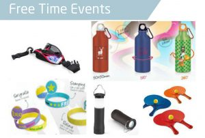 Merchandising Free Time Events