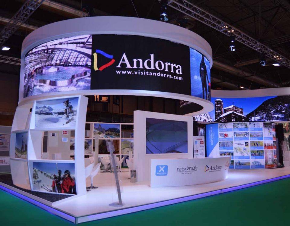 Diseño Stand Andorra