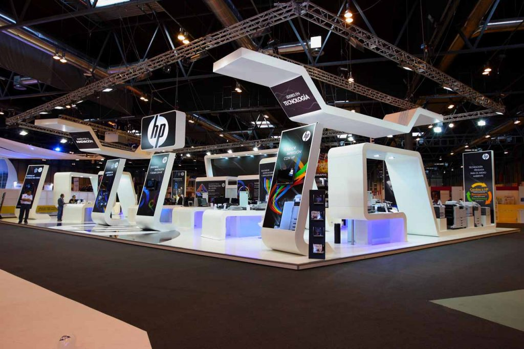 Modular Exhibition Stands For : Custom design stands trazos y tendencias