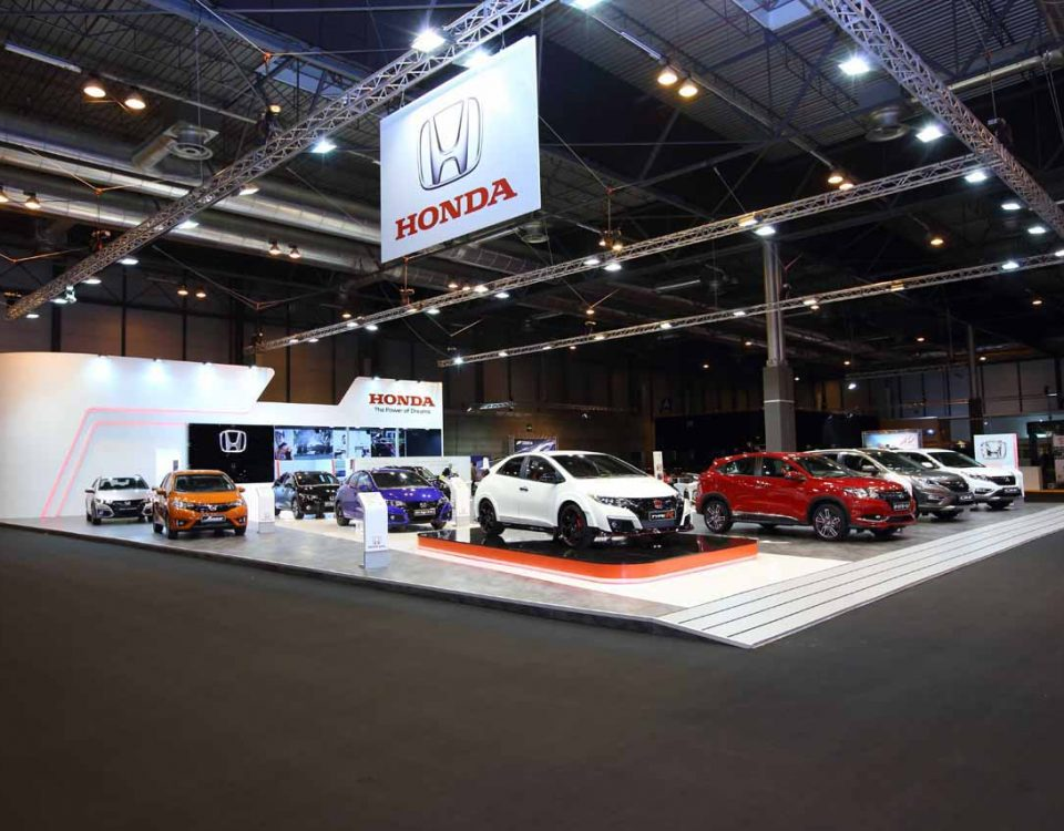 Stand HONDA Automovil Madrid