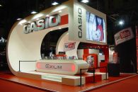 Custom Design Stand CASIO – SONIMAGFOTO