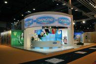 Custom Design Stand DANONE – ALIMENTARIA 2012