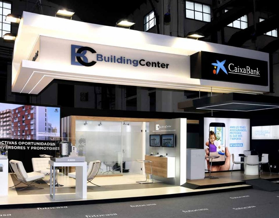 Stand CaixaBank Building Center 01