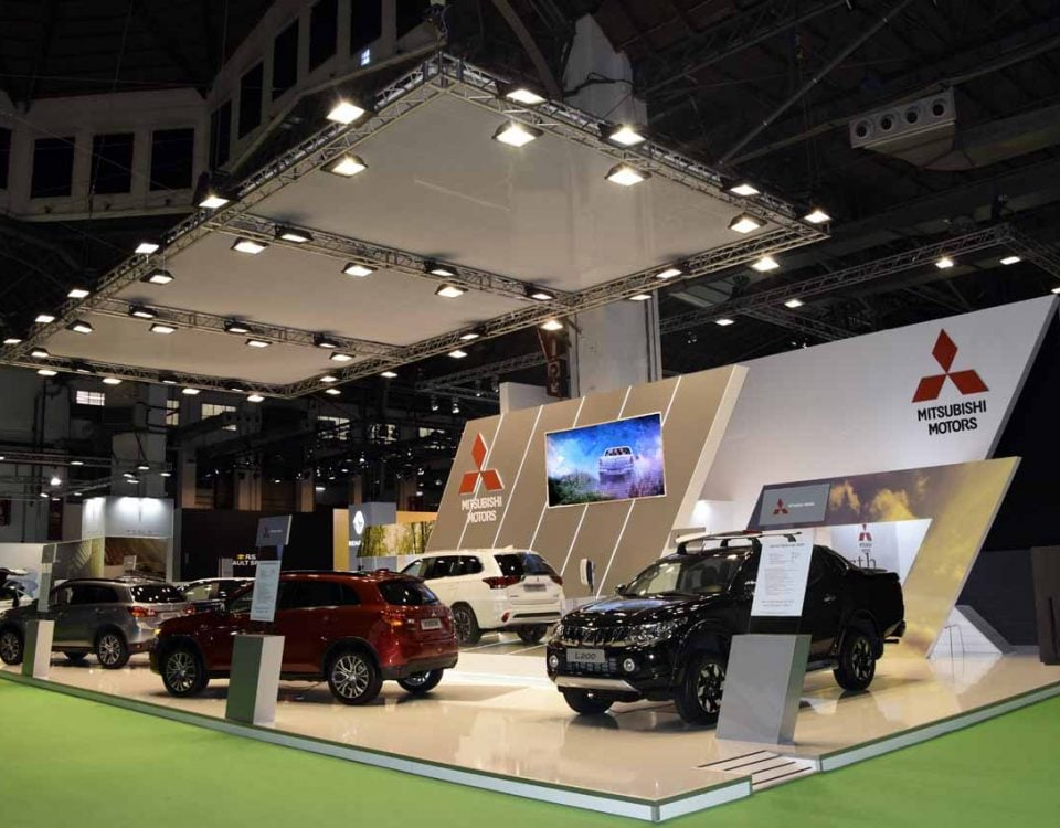 Stand MITSUBISHI MOTORS AUTOMOVIL 2017